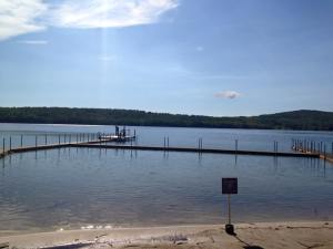 Arcadia's Swimming Dock