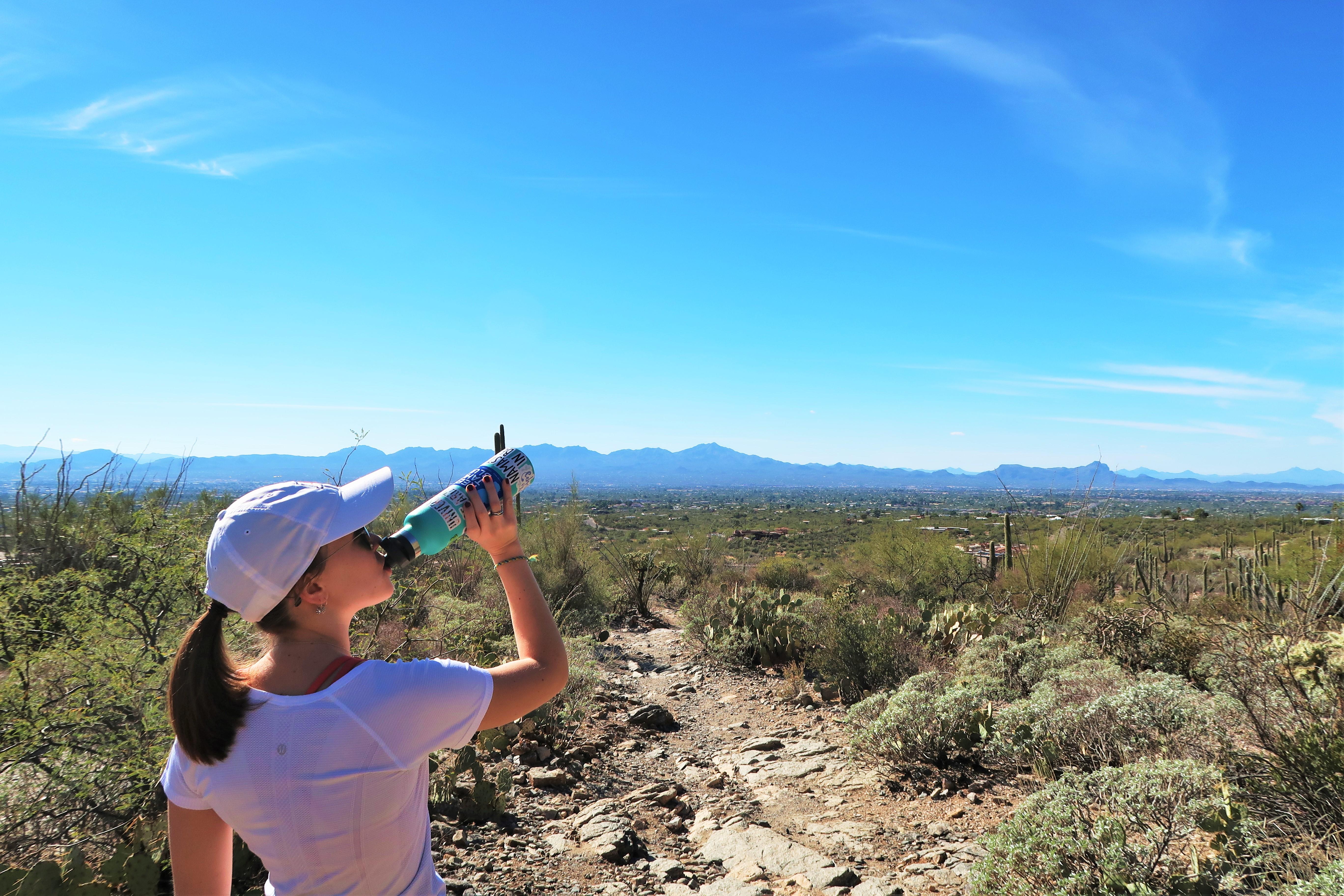 Pima canyon trail views over Tucson