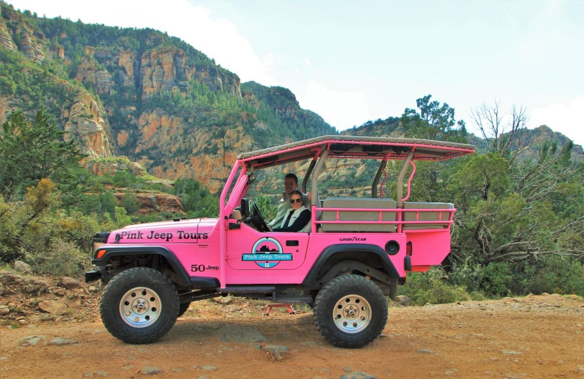 Pink Jeep Tour Sedona Arizona We Broke The Jeep The