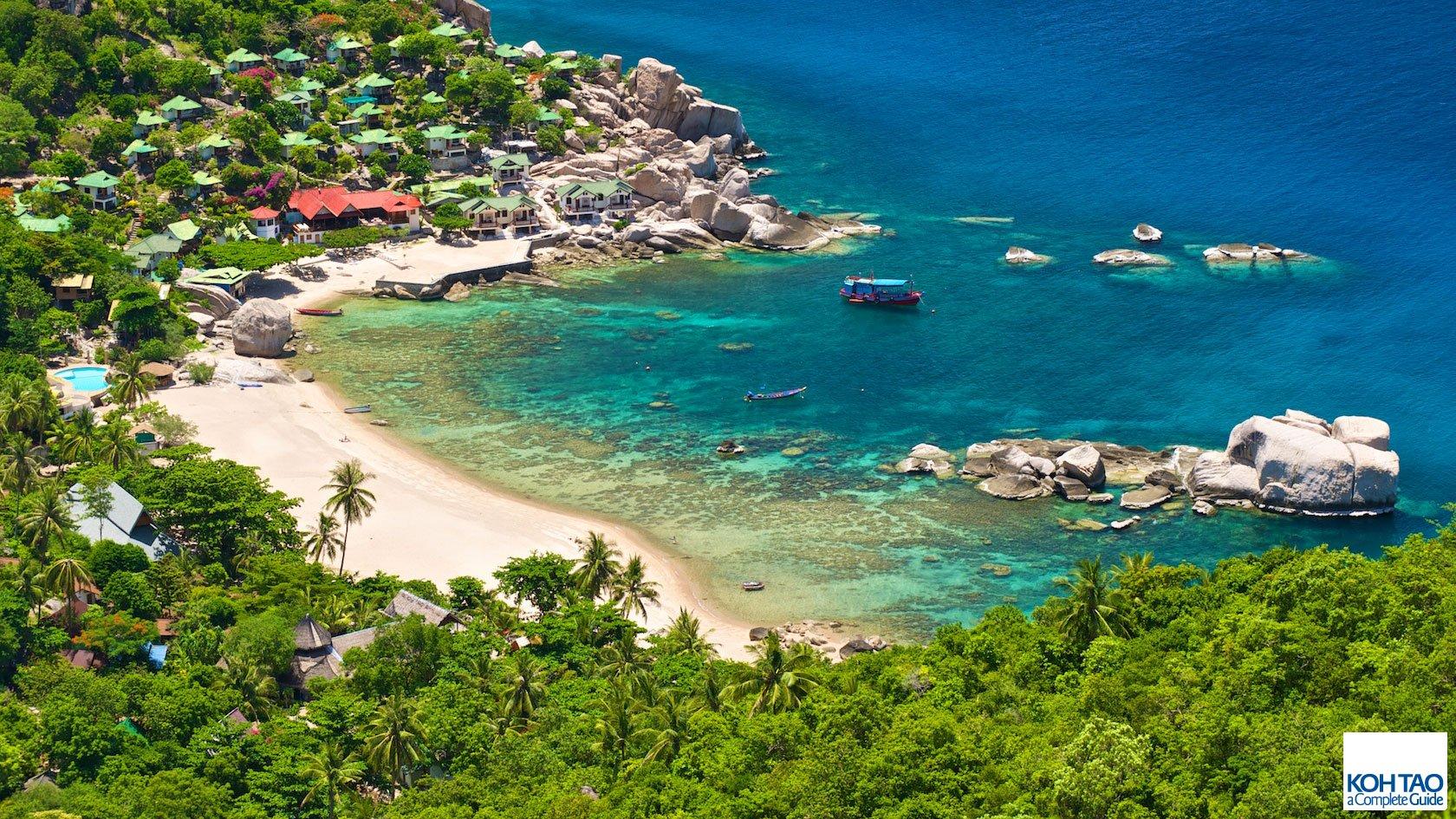 koh tao bay Thailand itinerary
