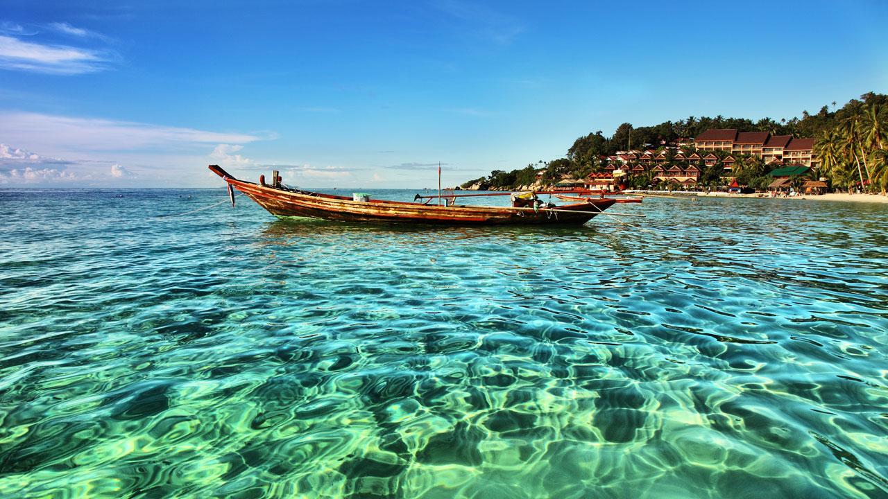 Koh Phangan boat itinerary