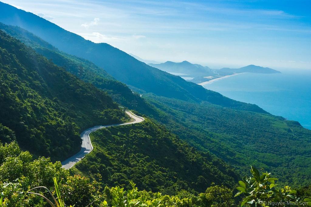 The Hai Van pass Vietnam