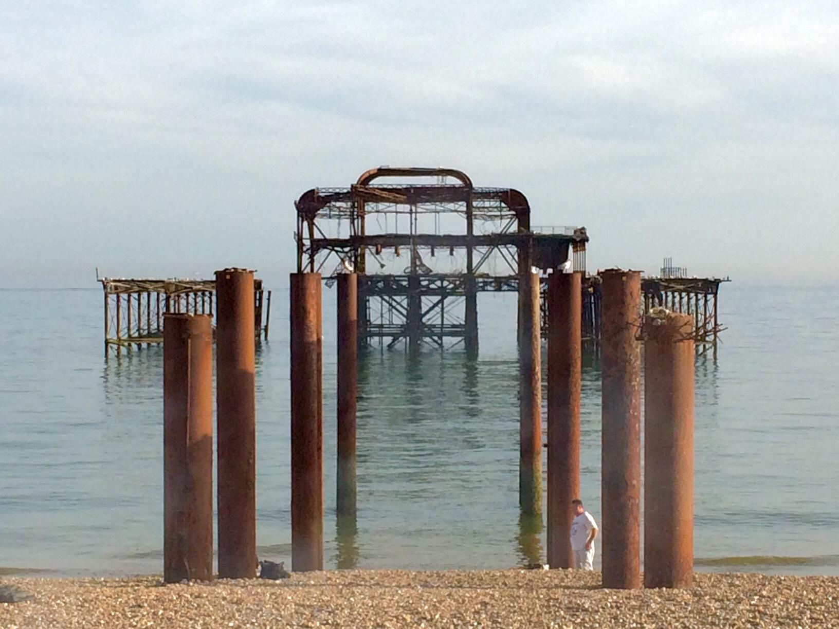 Brighton attraction the old pier