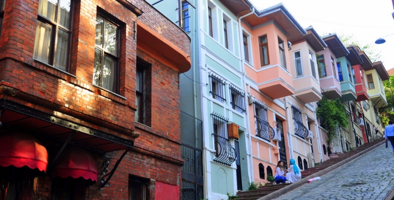 Fener Balat Neighborhood