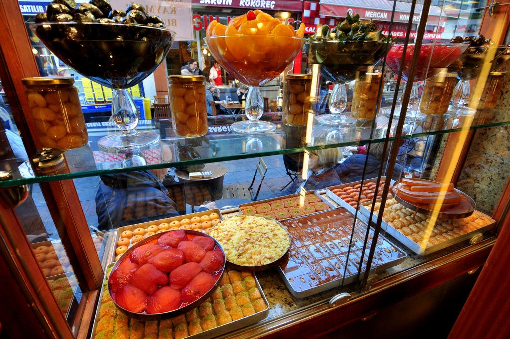 Kadıkoy Local Markets Dessert