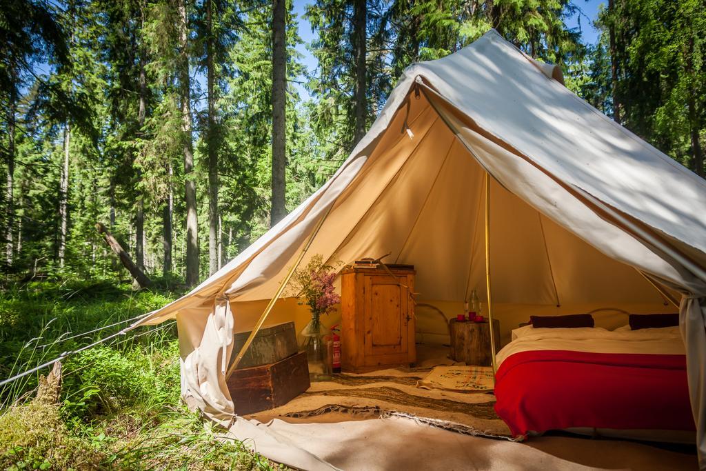Bell tent at Projekt Kodu