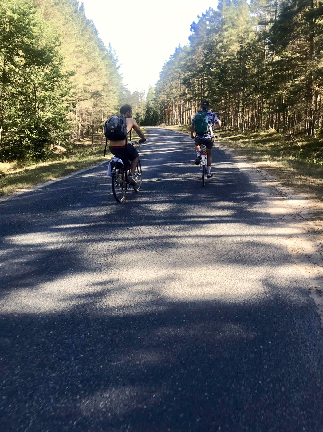 cycling through lahemaa