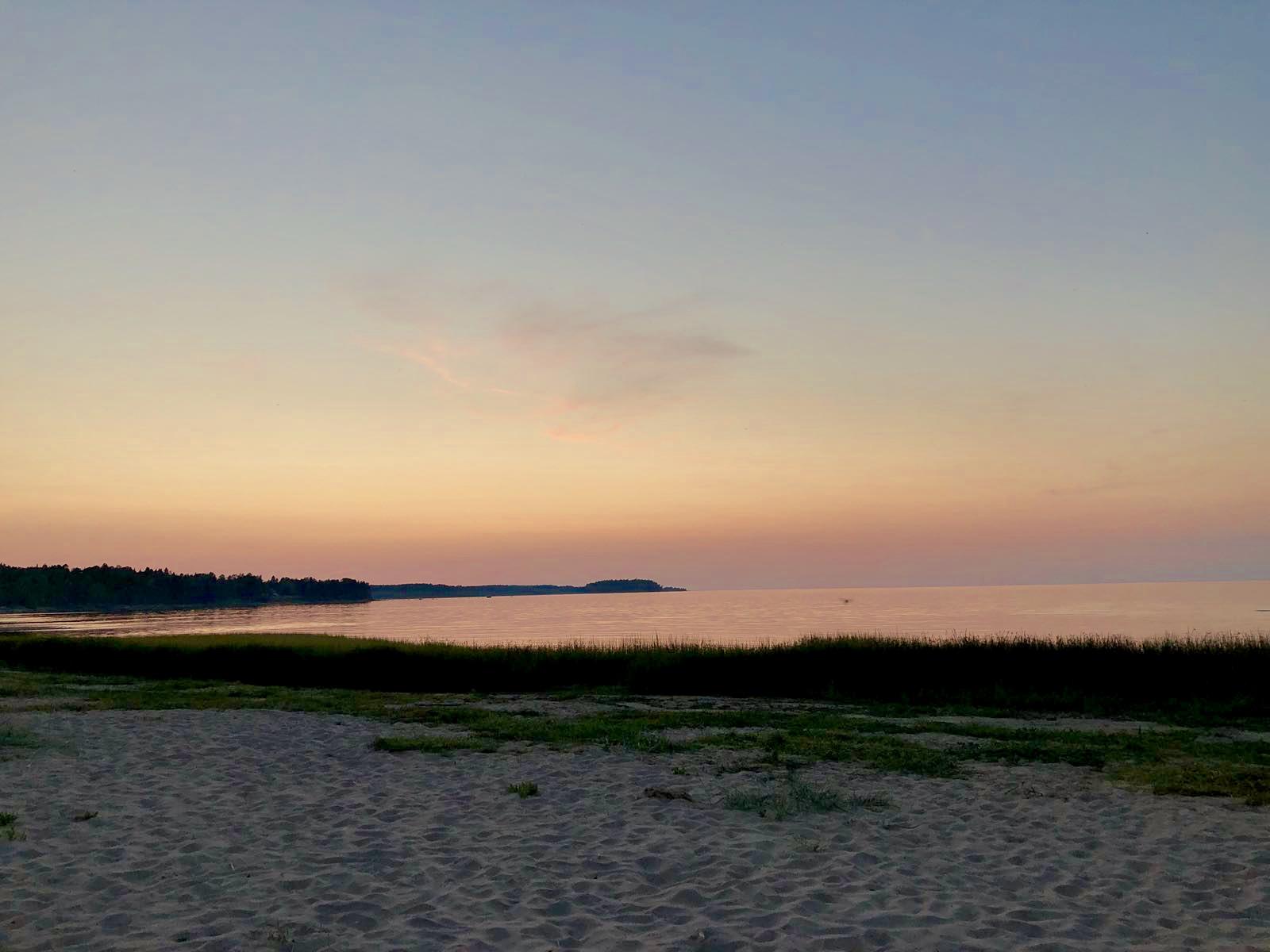 Sunset at lahemaa